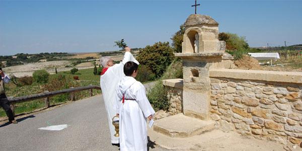 L'Oratoire Saint Marc sur le domaine Léonce Amouroux du Clos de l'Oratoire des Papes