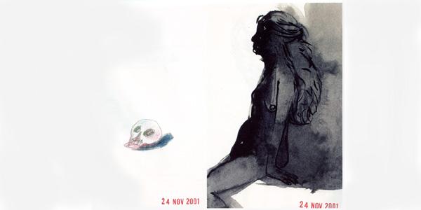 Radio Petrovitch - J'étais là - recueil de dessins mai 2000 - mai 2002