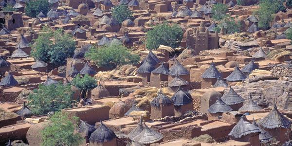 Mali - village en pays Dogon