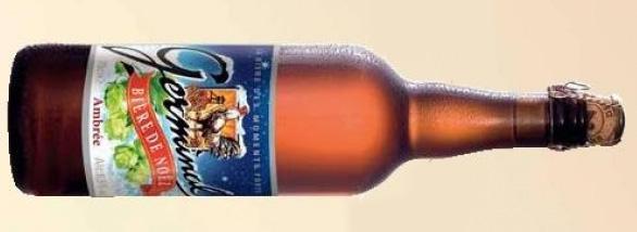 bière de noël Germinal brassée à Saint Amand
