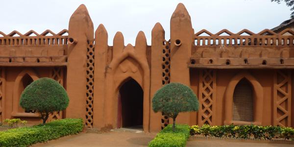 Mali - les demeures en banco à Ségou