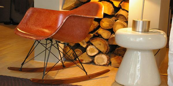 fauteuil de Charles et Ray Eames dans la boutique HAND