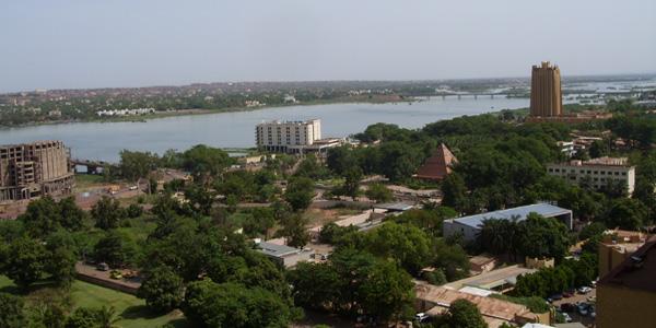mali - Bamako sur le Niger
