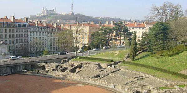Lyon - Croix-Rousse - Amphithéatre des trois Gaules