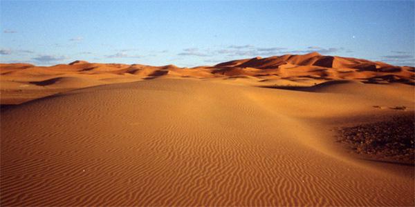 Maroc - les dunes de Merzouga