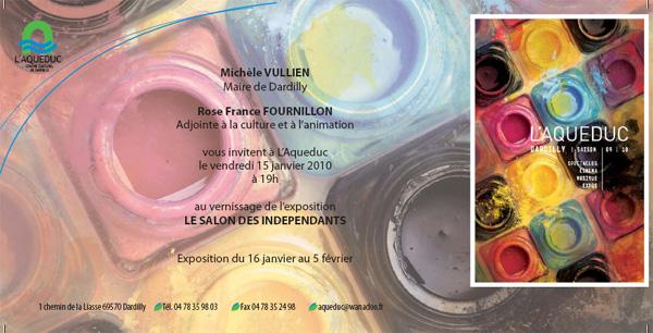 Lyon Dardilly - premier salon des artistes indépendants