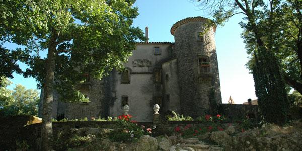 Château du Cros (Larzac) - été