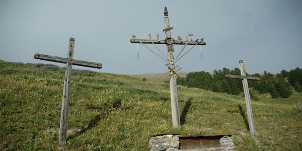 Les Croix de Mission de Saint Veran dans le Queyras