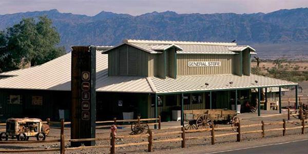Stovepipe Wells dans la vallée de la mort aux USA