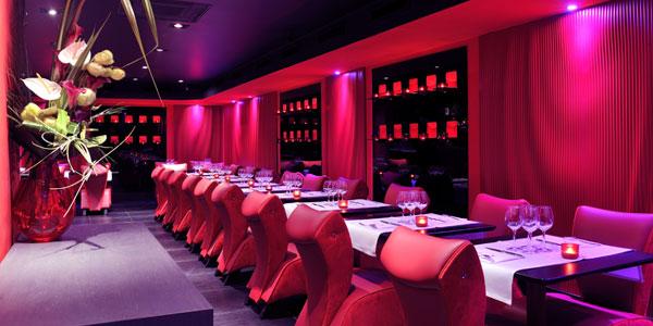 Restaurant Le Boudoir Réalisation de Donatelle Piana et Philippe Batifoulier