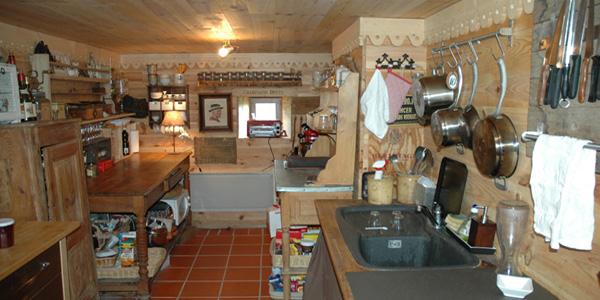 Gite La Faurie - Saint André en Vivarais - la cuisine