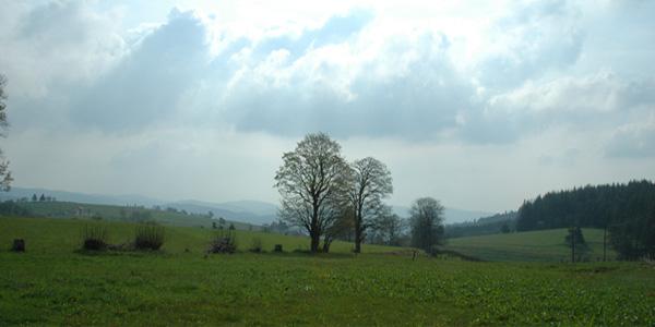 La Faurie - panorama devant la maison