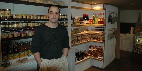 Guillaume de l'épicerie La Biasse à Lyon