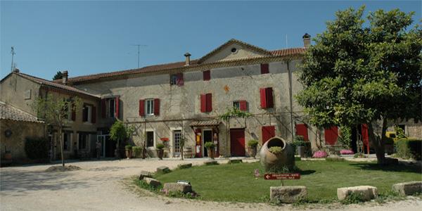 Château Cabrières - le batiment principal