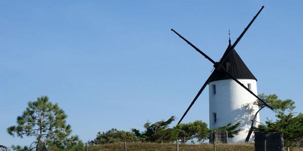 Noirmoutier - les moulins