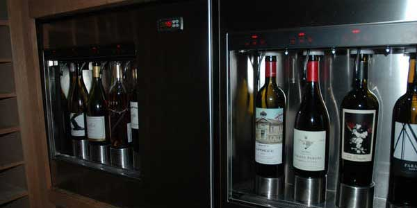 Amangiri - la cave à vins