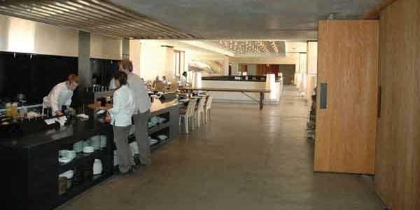 Amangiri - Le service et la salle à manger