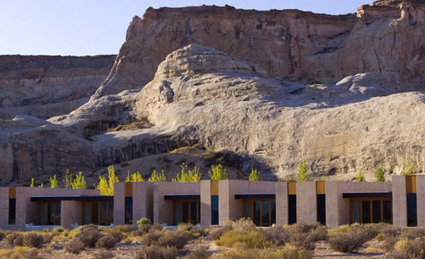 Amangiri - architecture et decor exceptionnel