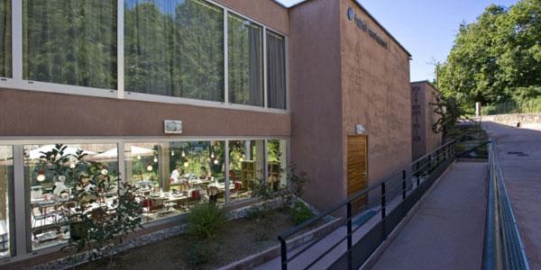 Bastelica - Corse du Sud - Hôtel Artemisia - Entrée principale