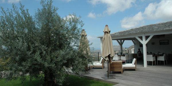 U Palazzu Serenu - Oletta (Corse) la terrasse salle à manger