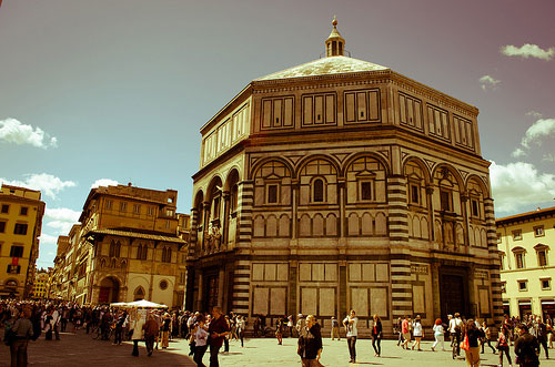 Le baptistere - Florence