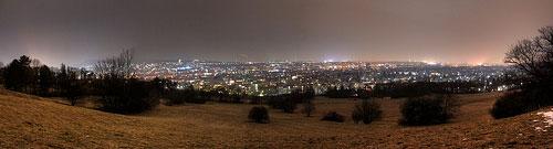 panoramique de la ville de Vienne
