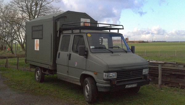 Le camion Peugeot