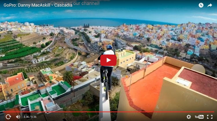 Montagne TV – GoPro: Danny MacAskill – Cascadia
