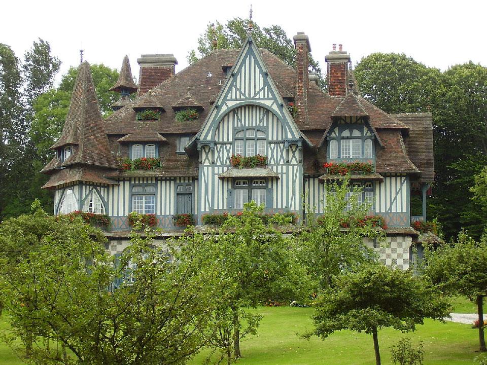 La villa Strasburger à Deauville
