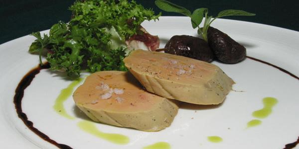 foie gras de canard à la bière de noël