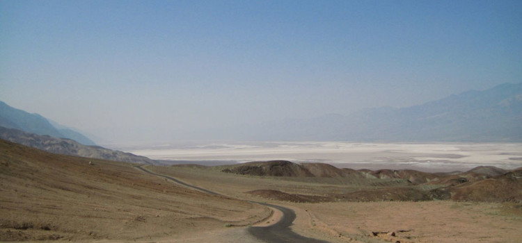 Désert de la vallée de la mort en Californie