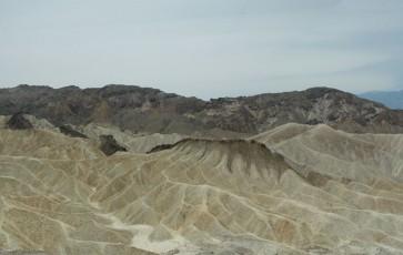 Zabriskie Point dans la vallée de la mort