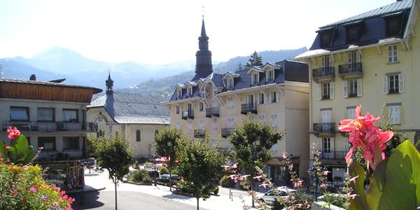 le village de Saint-Gervais-les-Bains