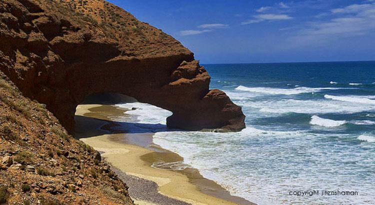 Maroc - plage Legzira