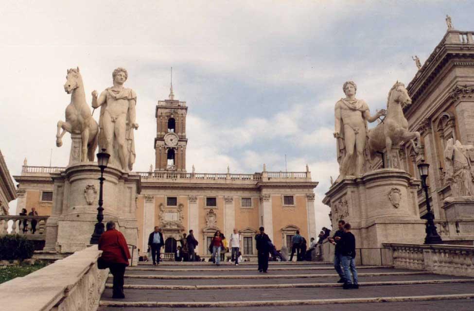 Italie Rome - Le Capitole