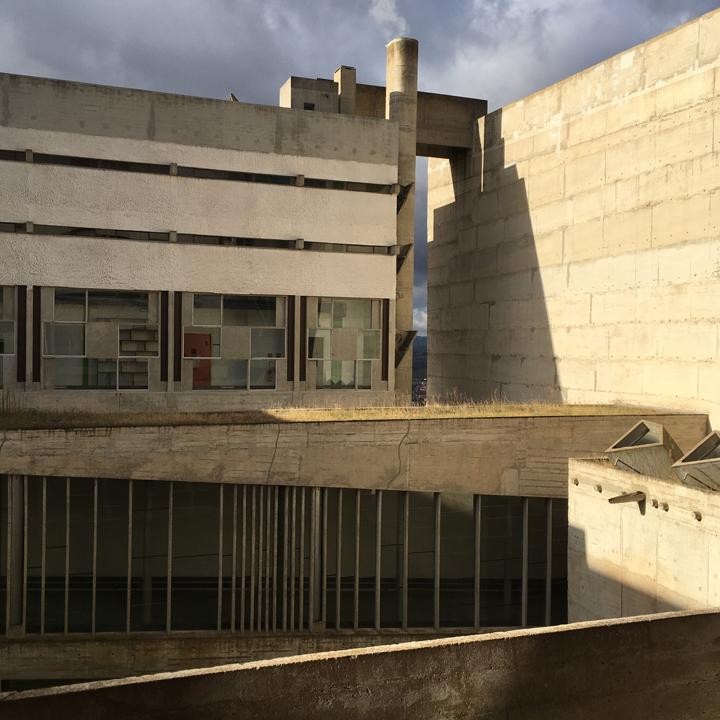 LEE UFAN chez Le Corbusier au couvent de la Tourette