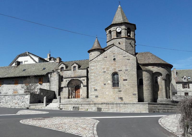 Carnets de voyage AUbrac - Nasbinals - Eglise Sainte Marie