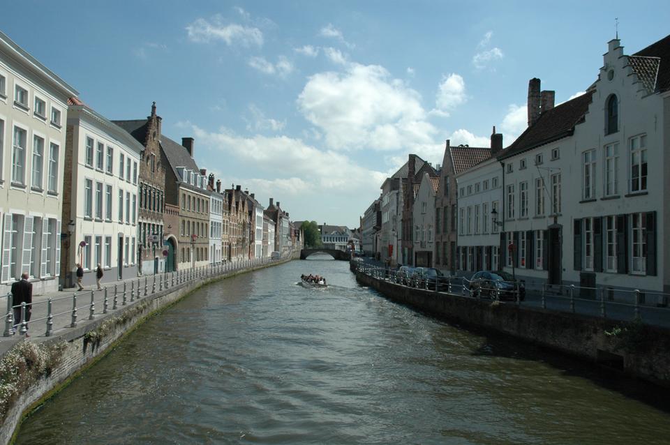 Carnets de voyage Belgique - la ville de Bruges
