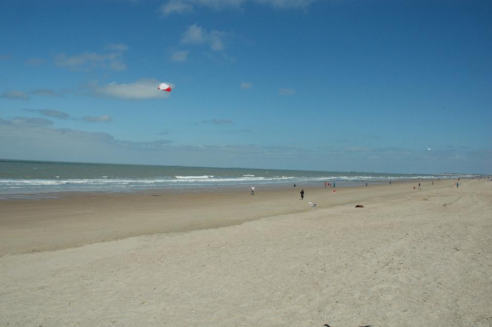 Carnets de voyage Belgique - La plage de Knokke le Zout