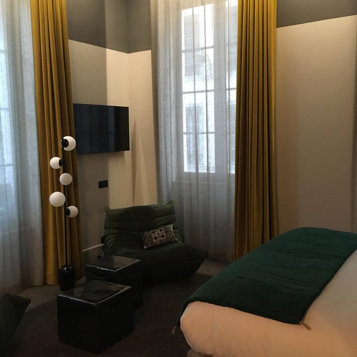 Hôtel de l'Abbaye - Lyon Ainay - chambre SIGNATURE