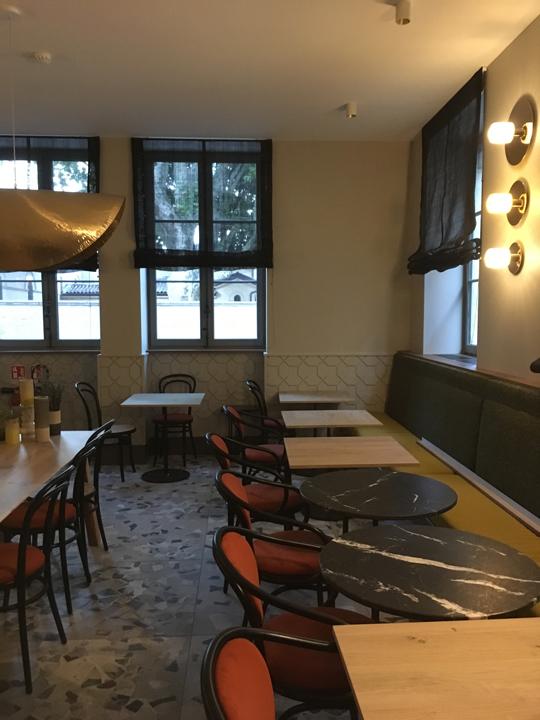 Hôtel de l'Abbaye - Lyon Ainay - salle du restaurant l'ARTICHAUT