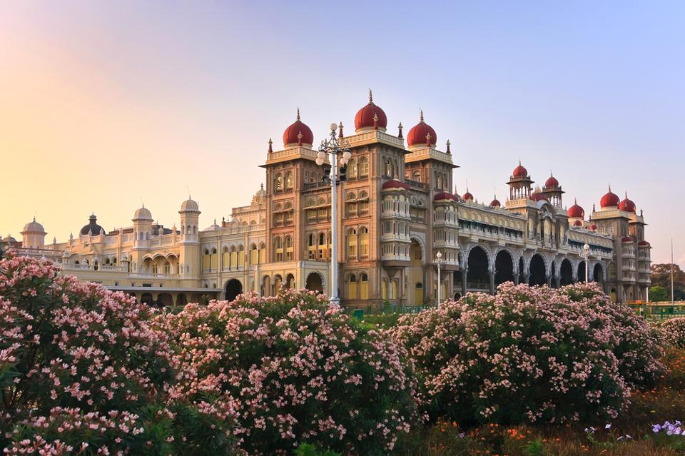 circuit inde - le palais de mysore