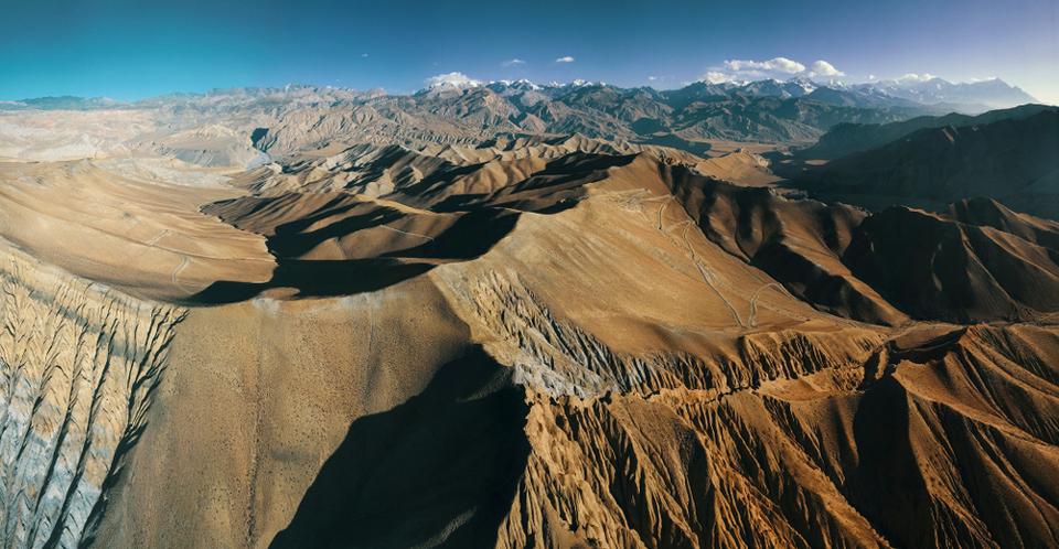 Népal : Itinéraire en E-vtt au mustang