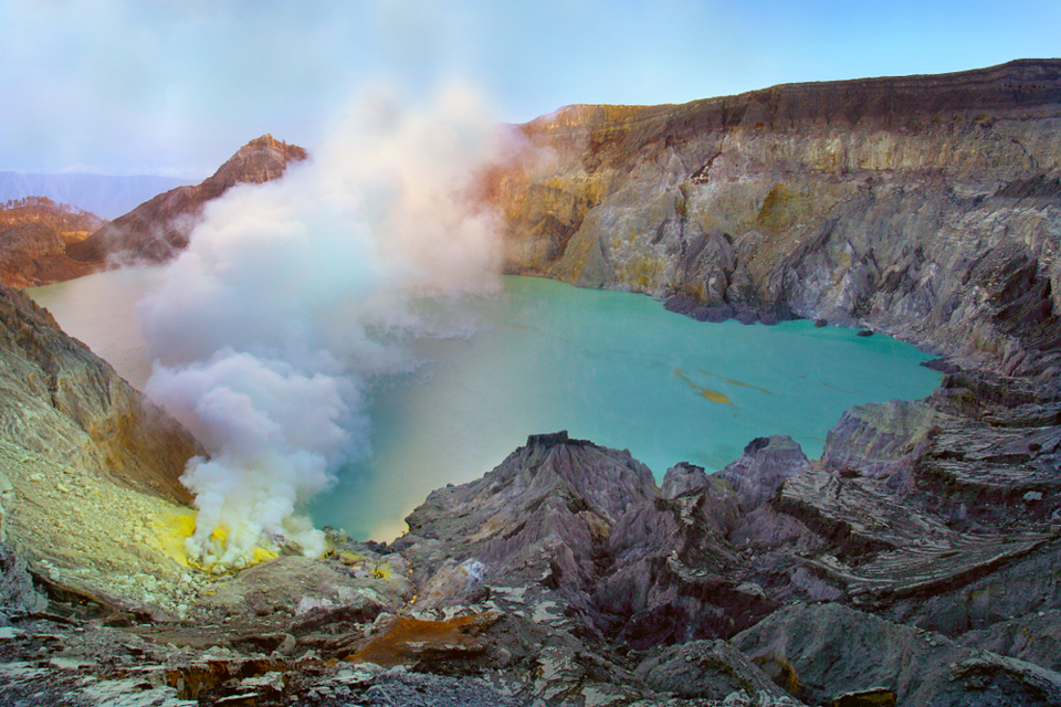 circuit  volcans javanais : le kawaijen