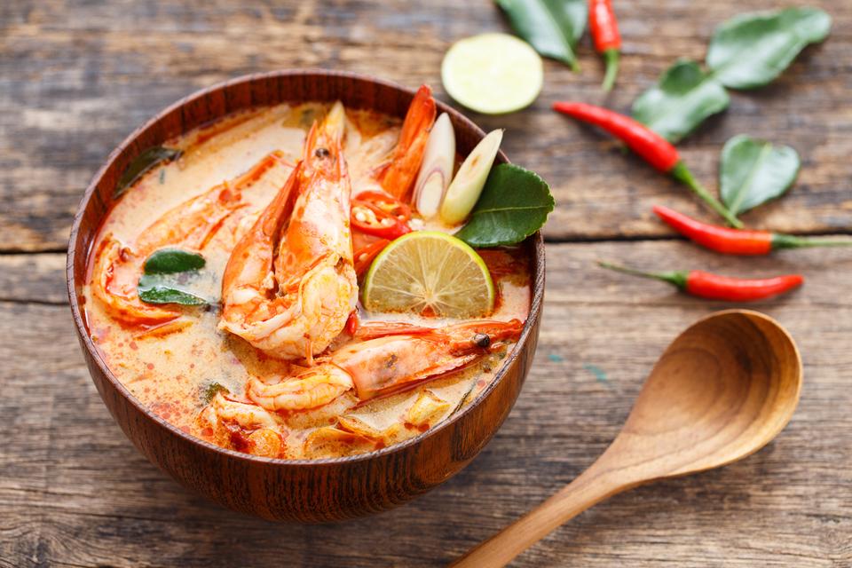 Gourmandises Thailande - les plats emblématiques : le Tom Yam