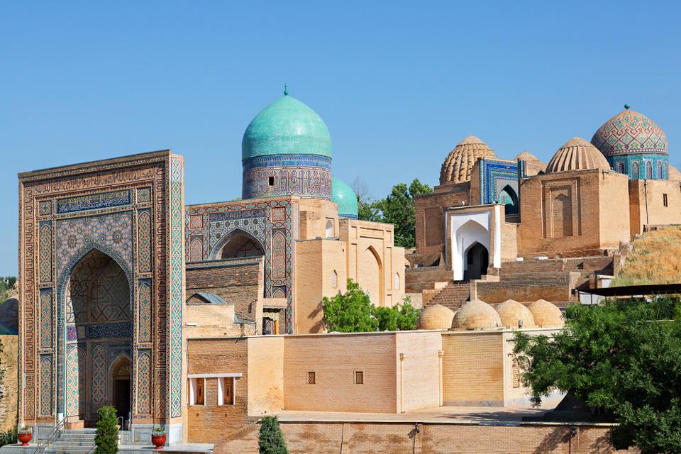 La necropole Shakhi-Zinda