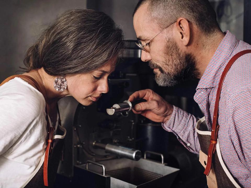 Javade et Orfeve : les fondateurs Caroline Buechler et François-Xavier Mousin - photo @Guillaume-Megevand
