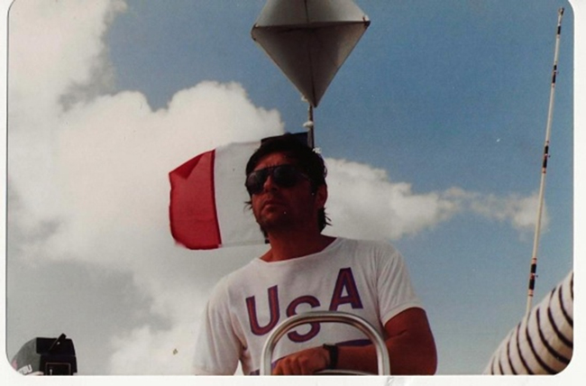 Jean Gaches - Skipper aux Grenadines : le skipper