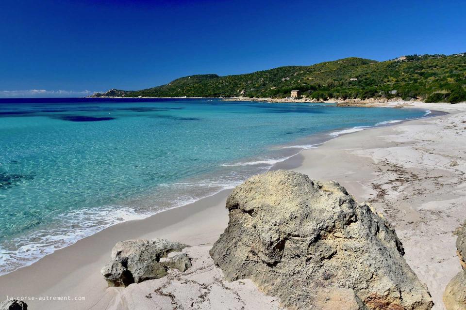 Les croisières de Jean - Corse du Sud : Cala di orzu @la-corse-autrement.fr