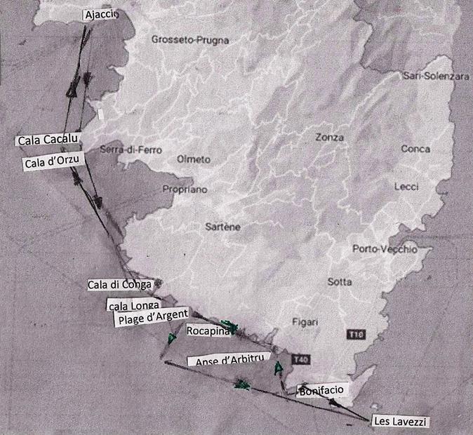 Croisieres de Jean - Croisière en Corse du Sud : circuit